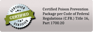 Certified Poison Prevention Package
