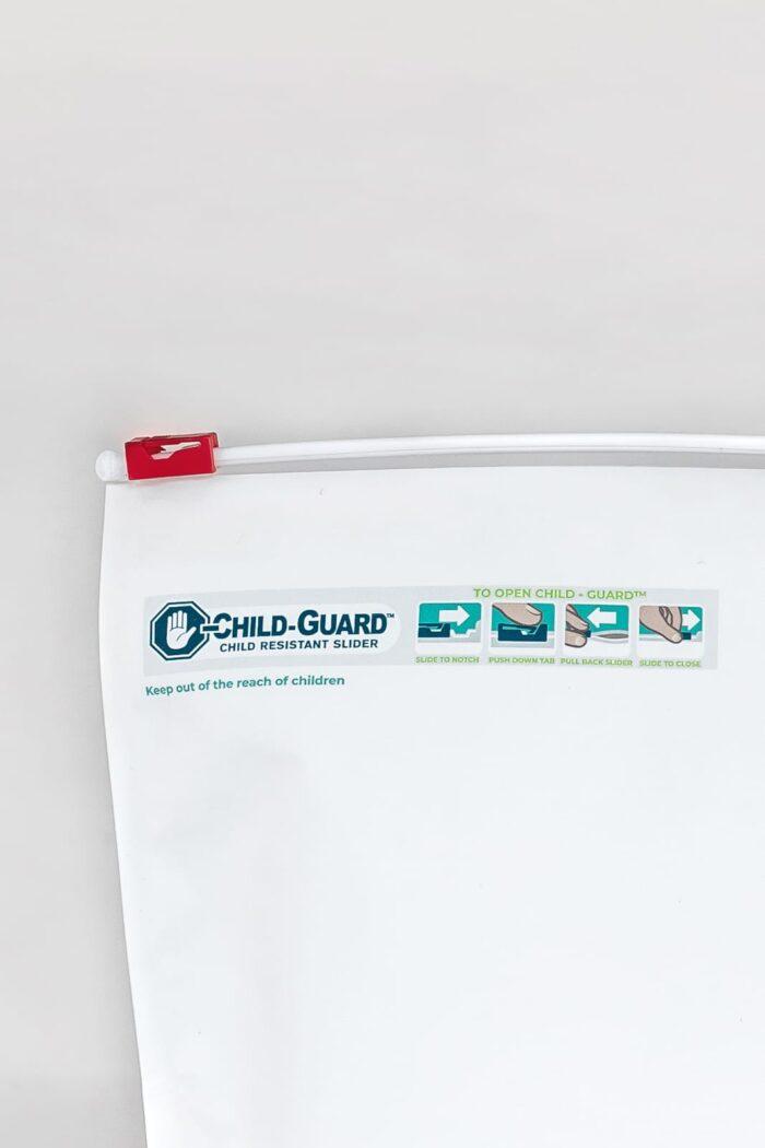 Large Child Resistant Exit Bag