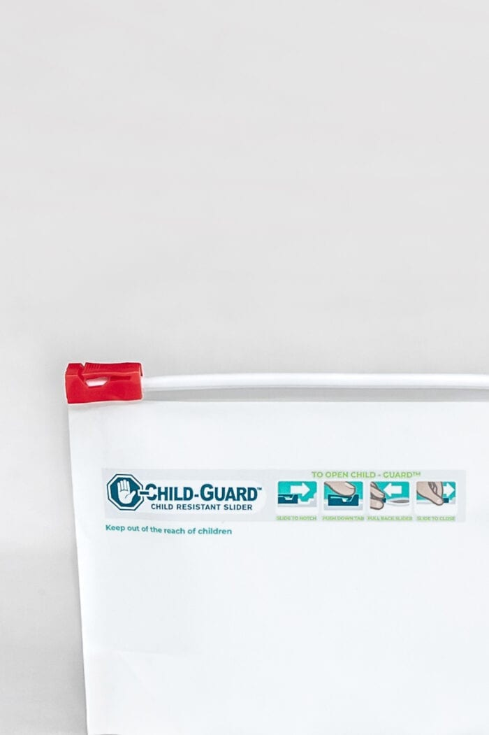 Child Resistant Small Exit Bag