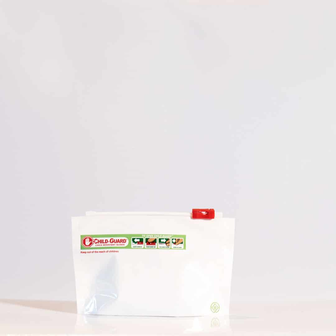 small child resistant dispensary exit bags