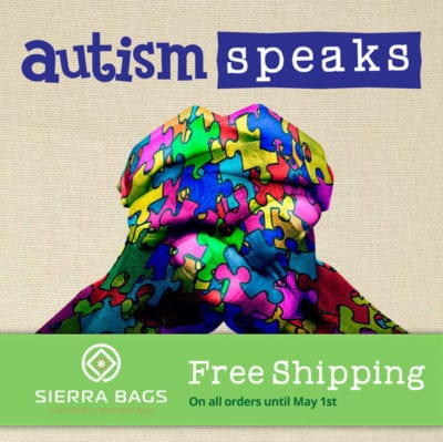 Autism Speaks - Free Shipping until May 1