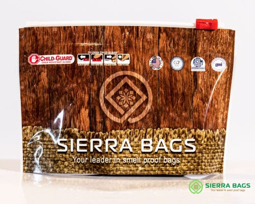 custom nature child proof bag from sierra bags