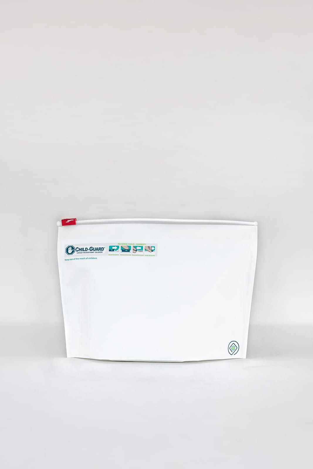 large child resistant dispensary exit bags